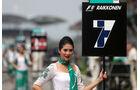 Grid Girls - GP Malaysia 2014 - Formel 40