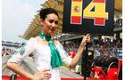 Grid Girls - GP Malaysia 2014 - Formel 41