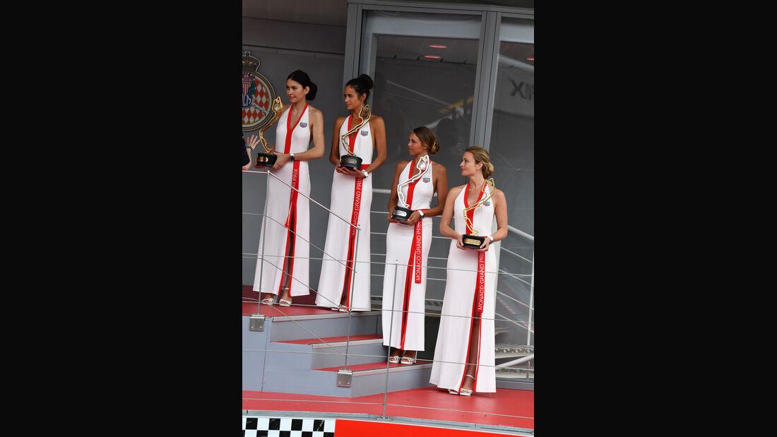 Grid Girls - GP Monaco 2018 - Formel 1