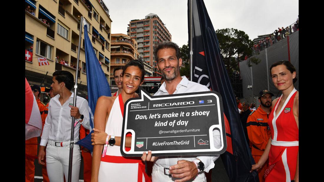 Grid Girls - GP Monaco 2018 - Rennen