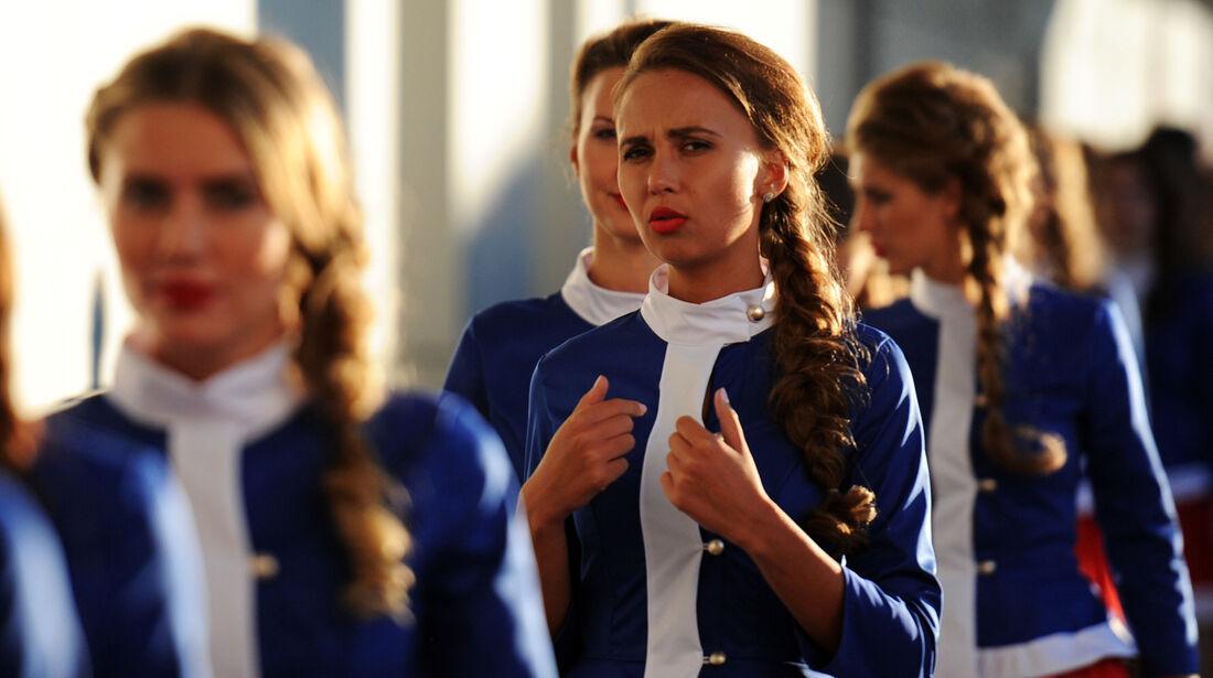 Grid Girls - GP Russland - Sochi - 2014