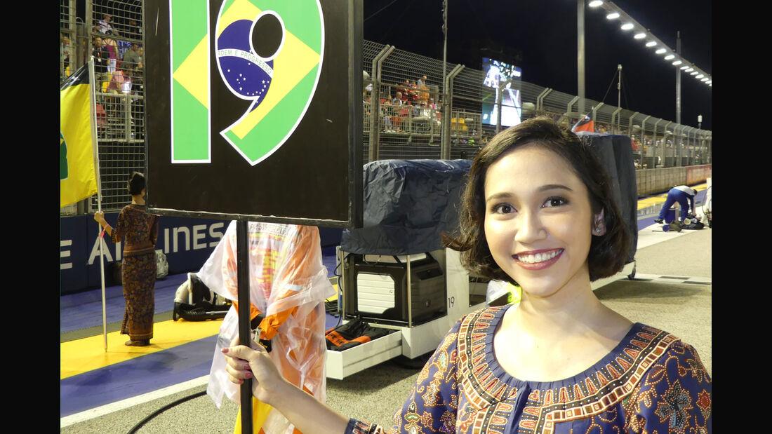 Grid Girls - GP Singapur 2017