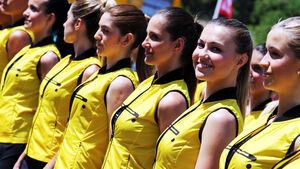 Grid Girls - GP Spanien 2015 - Barcelona