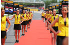 Grid Girls - GP Spanien 2015 - Barcelona