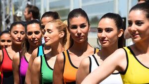 Grid Girls - GP Spanien 2016 - Barcelona