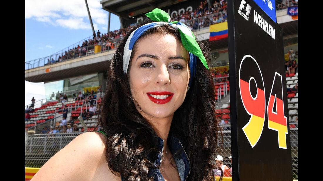 Grid Girls - GP Spanien - Barcelona - Formel 1 - 2017