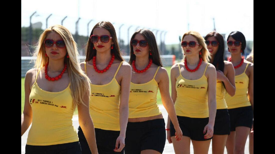 Grid Girls GP Türkei 2011