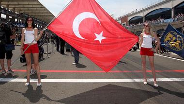Grid Girls - GP Türkei - Formel 1