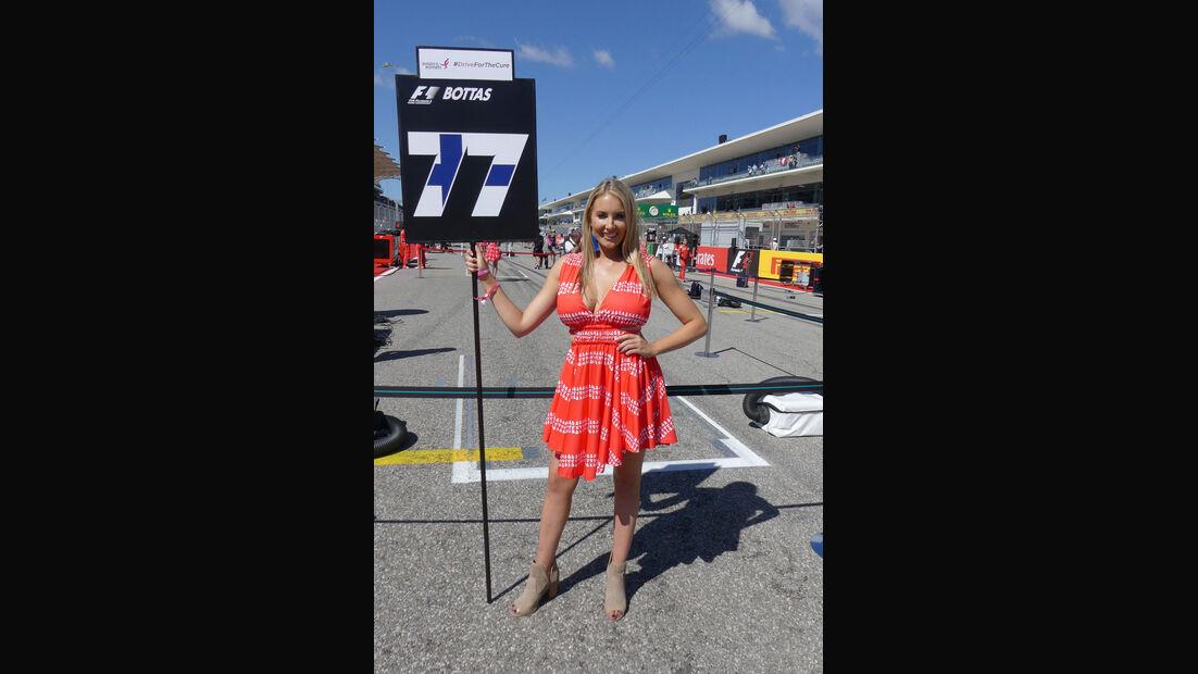 Grid Girls - GP USA 2017 - Austin