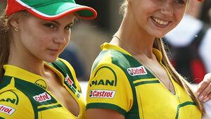 Grid Girls - GP Ungarn - Formel 1 - 31.7.2011