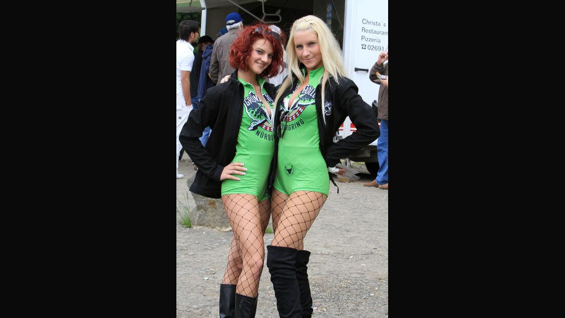 Grid-Girls VLN Langstreckenmeisterschaft Nürburgring