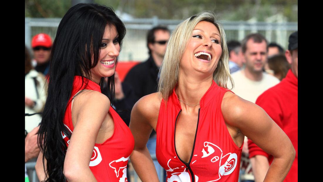Grid Girls WRC Portugal 2011