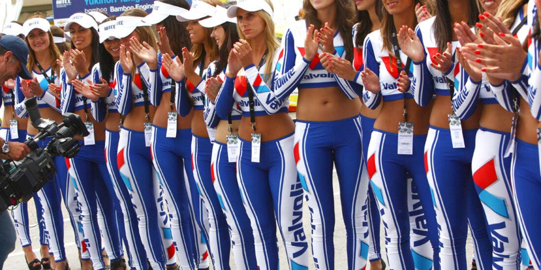 Grid Girls WTCC Brünn 2011