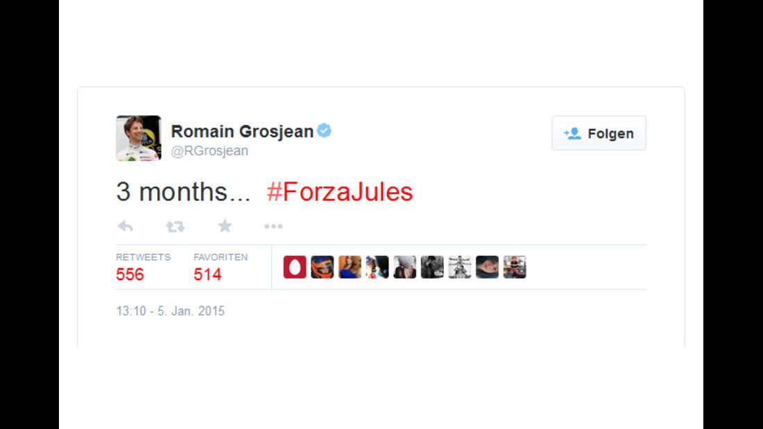Grosjean - 2014