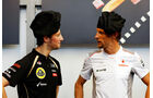 Grosjean & Button F1 Fun Pics 2012