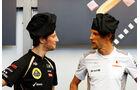 Grosjean Button Kochen GP Monaco 2012