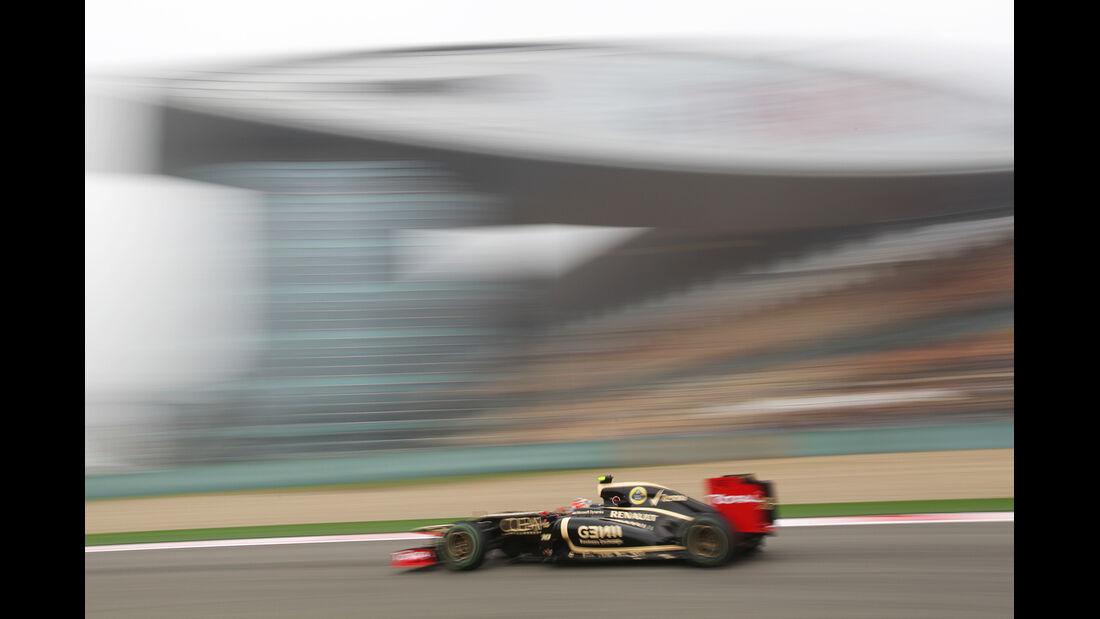 Grosjean - Formel 1 - GP China - 13. April 2012