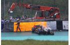 Grosjean GP Brasilien F1 Crashs 2012