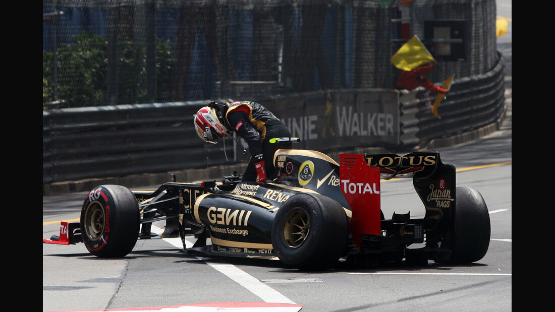 Grosjean GP Monaco 2012