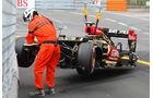 Grosjean - GP Monaco - Crash - 2013