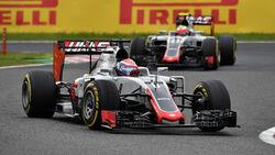 Grosjean & Gutierrez - GP Japan 2016