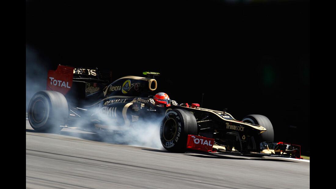Grosjean Lotus GP Brasilien 2012