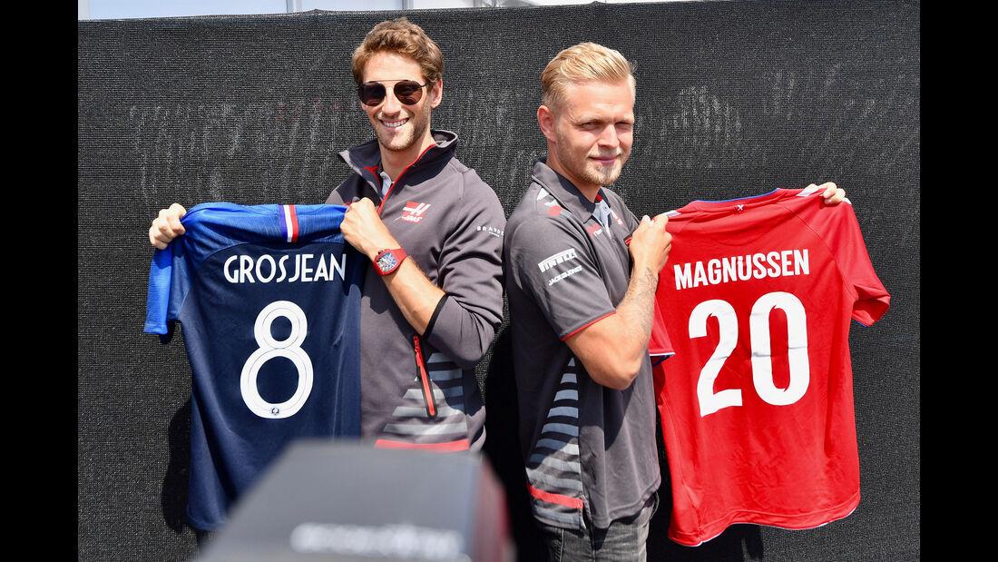 Grosjean & Magnussen - GP Frankreich 2018