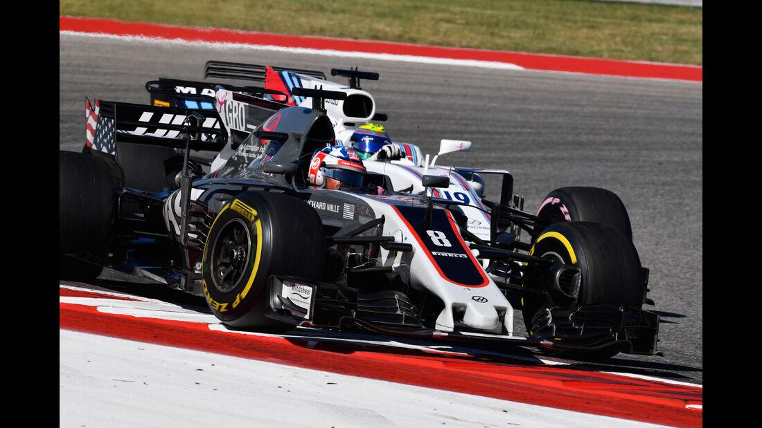 Grosjean - Massa - GP USA 2017 - Formel 1