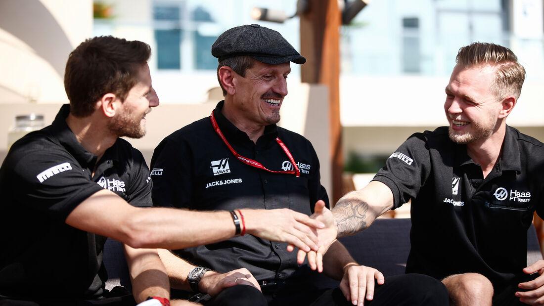 Grosjean - Steiner - Magnussen - HaasF1 - GP Abu Dhabi - Formel 1 - Freitag - 29.11.2019