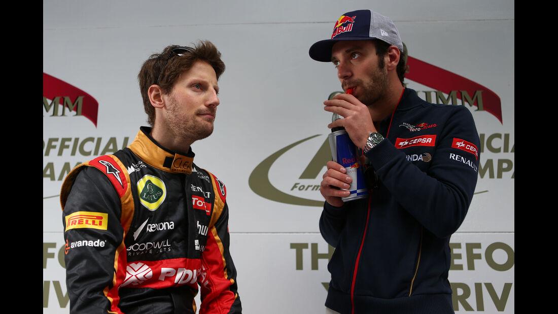 Grosjean & Vergne - GP Australien 2014