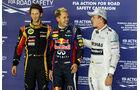 Grosjean, Vettel & Rosberg - Formel 1 - GP Singapur - 21. September 2013
