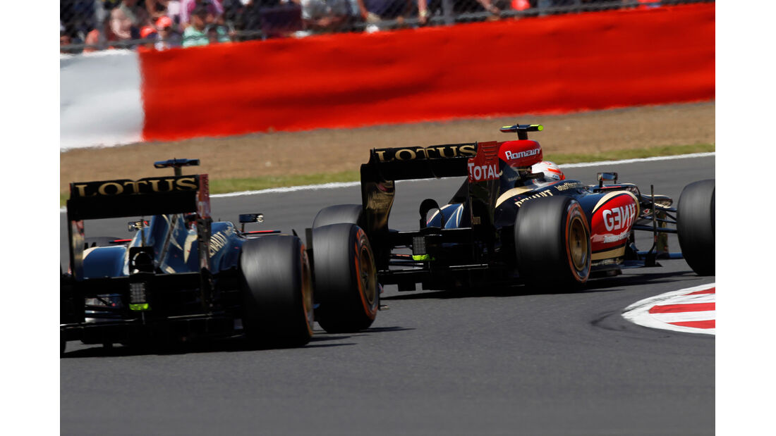 Grosjean vs. Räikkönen - GP England 2013