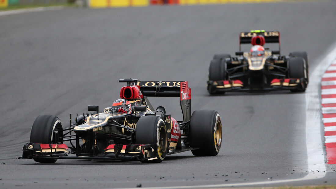 Grosjean vs. Räikkönen - GP Korea 2013