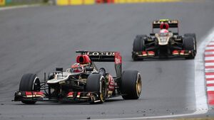 Grosjean vs. Räikkönen - GP Korea 2013