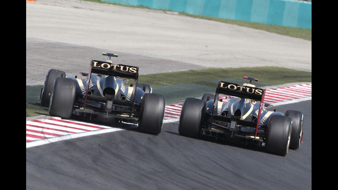 Grosjean vs. Räikkönen GP Ungarn 2012