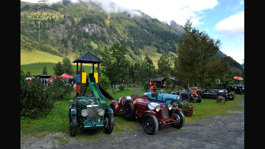 Großglockner Grand Prix, Fahrerlager