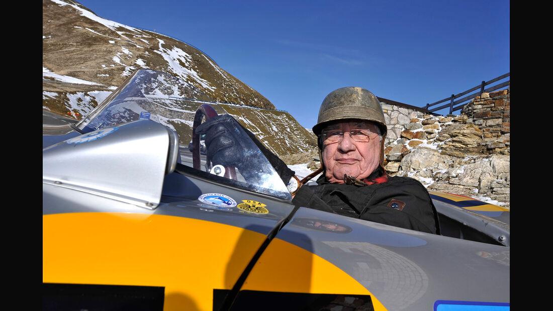 Großglockner Grand Prix, Hans Hermann, Porsche 550 Spyder