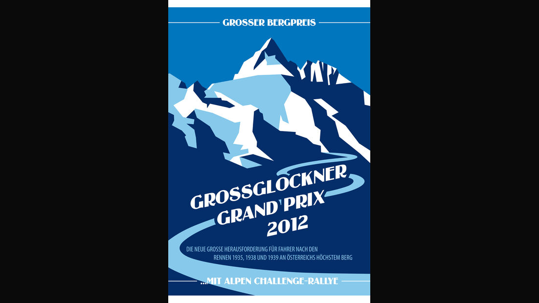 Großglockner Grand Prix, Plakat