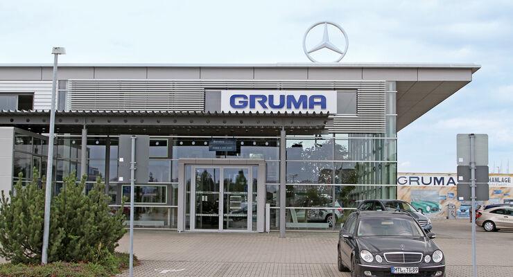 mercedes werkst ttentest 2012 gruma automobile gmbh. Black Bedroom Furniture Sets. Home Design Ideas