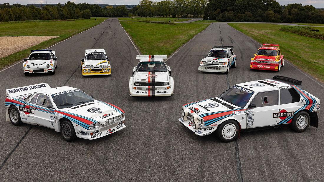 Gruppe B Rallyeauto Auktion Paris 2021