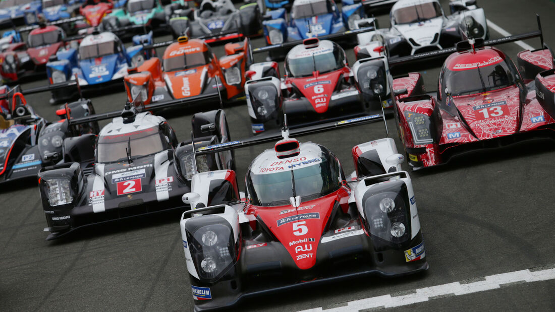 Gruppenfoto - 24h Le Mans Vortest - 2016