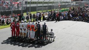 Gruppenfoto GP Australien 2012