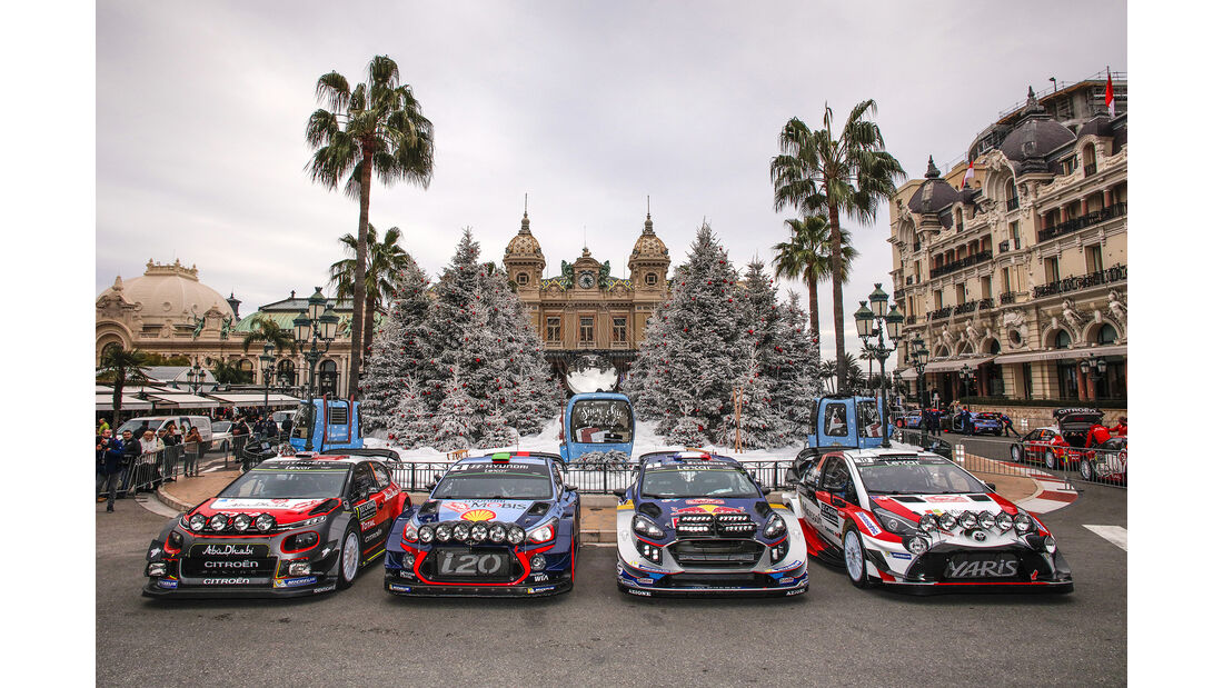 Gruppenfoto - Rallye Monte Carlo 2017