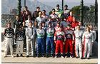 Gruppenfoto WRC-Piloten Rallye Monte Carlo 2012