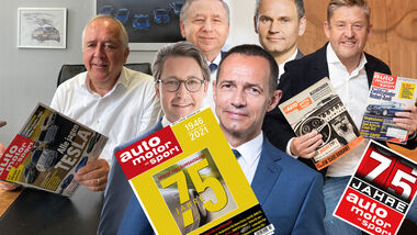 Grußbotschaften 75 Jahre Jubiläum ams