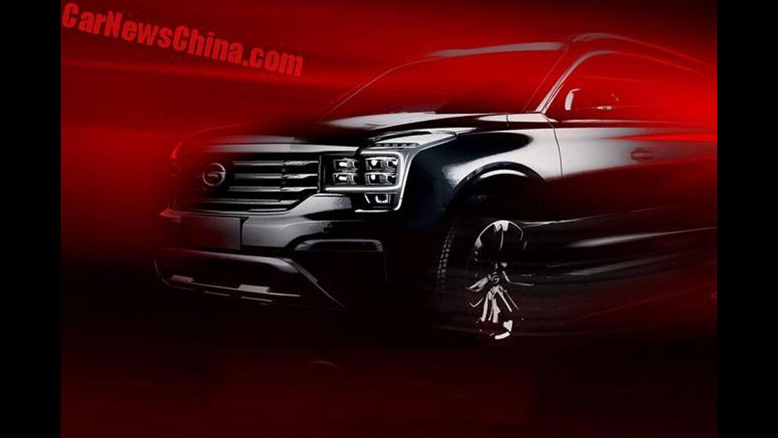 Guangzhou Trumpchi GS8 SUV