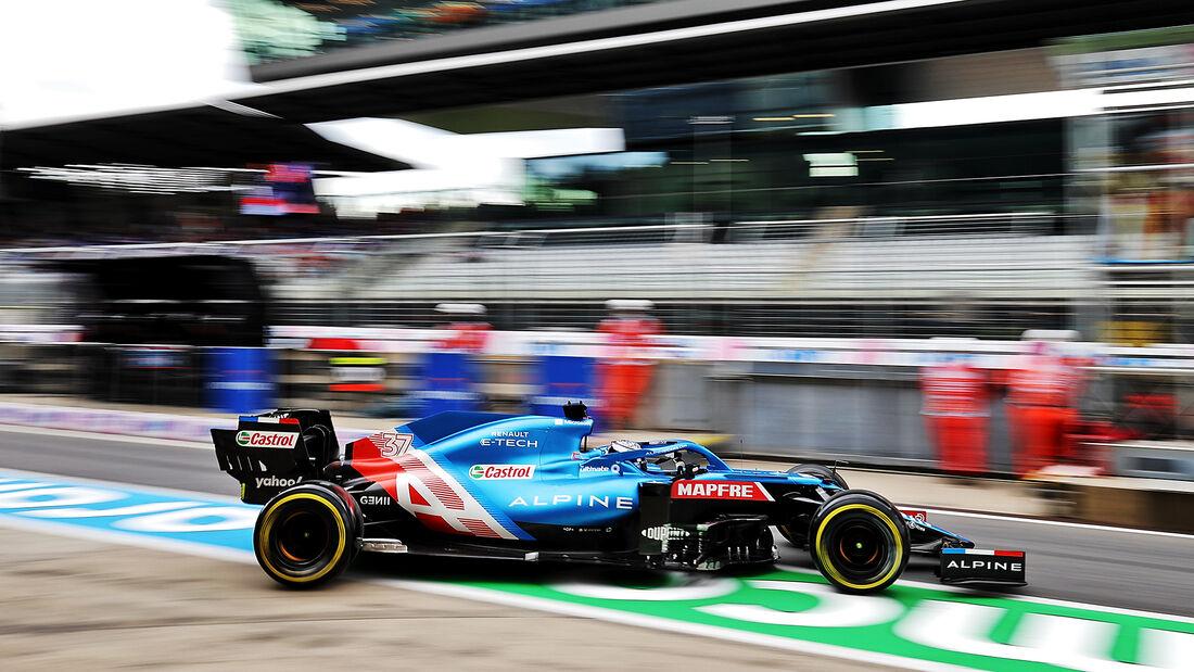 Guanyu Zhou - Alpine - Formel 1 - GP Österreich - Spielberg - Freitag - 2.7.2021