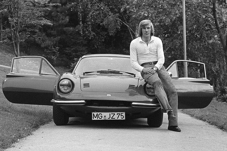 Günter Netzer Ferrari Dino