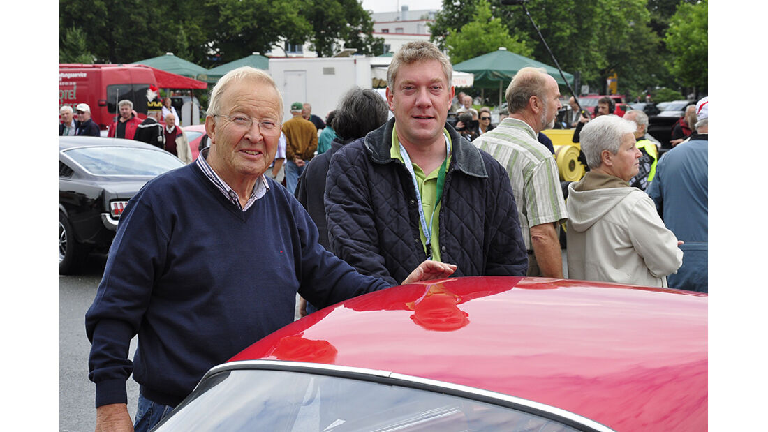 Günter Pietsch und Marcus Heine mit NSU Sport Prinz