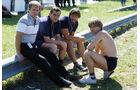 Guenter Schmid - Paul Rosche - Manfred Winkelhock - GP Brasilien 1984 - Formel 1